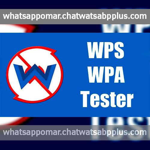 برنامج WIFI WPS WPA TESTER اختراق للشبكات