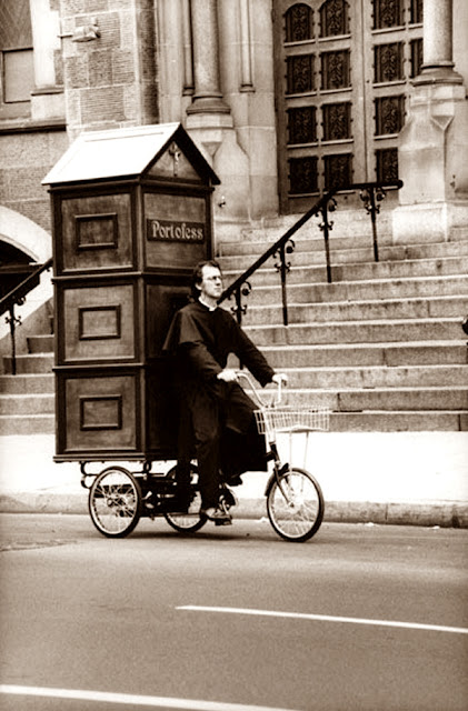 "Cartoline ""Vintage"" Portable%2Bconfessional"