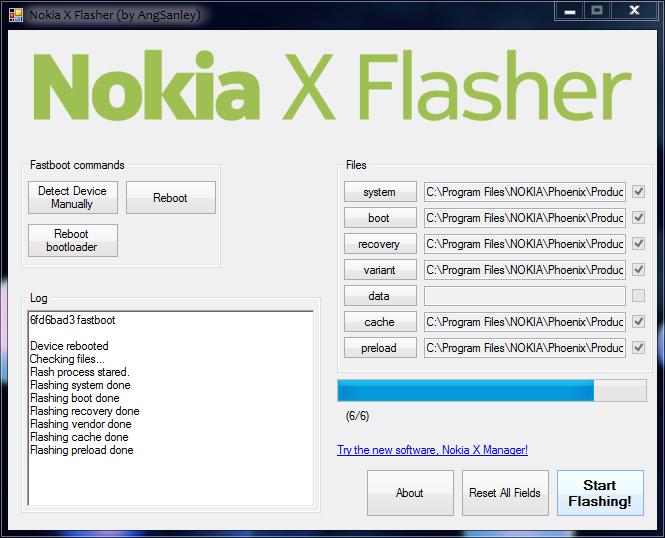 Nokia X Flasher 1.0.1.1 Full Download