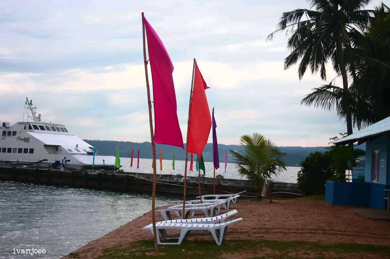 Flaglets at Grande Island Resort