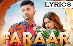 Faraar Lyrics in English :- Akull | Avneet Kaur