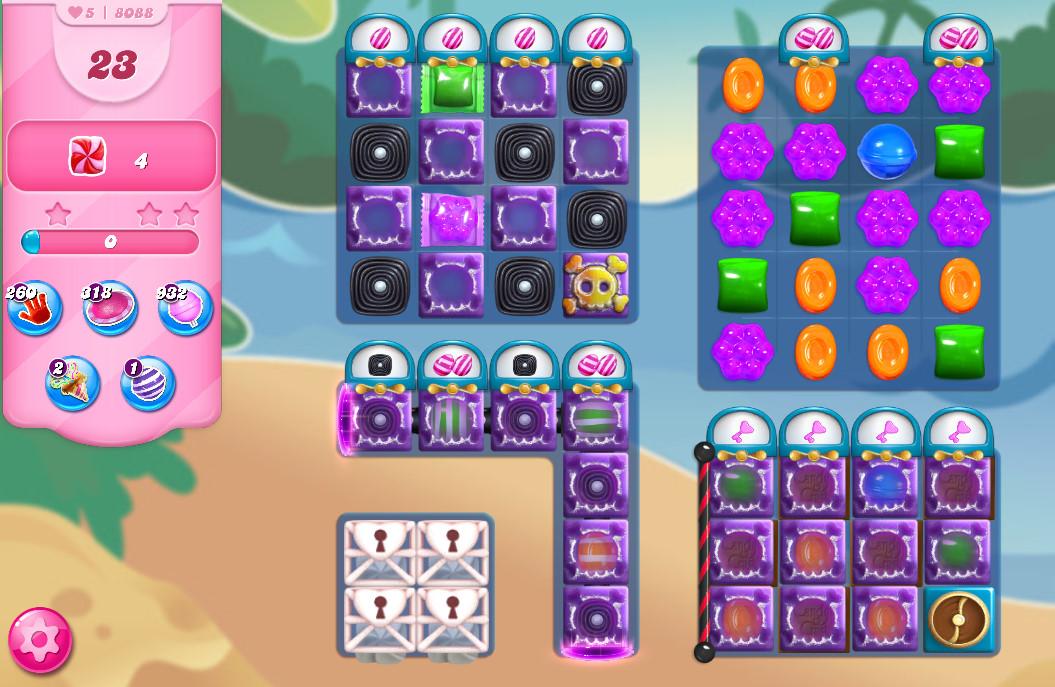 Candy Crush Saga level 8088