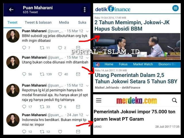 Twit-twit Jadul Puan Maharani Saat Jadi Oposisi, ASLI LUCU Banget Dengan REALITA Saat Berkuasa