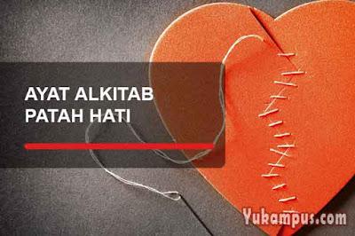ayat alkitab tentang patah hati