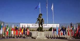 Monumento a Leónidas, meta de la Spartathlon