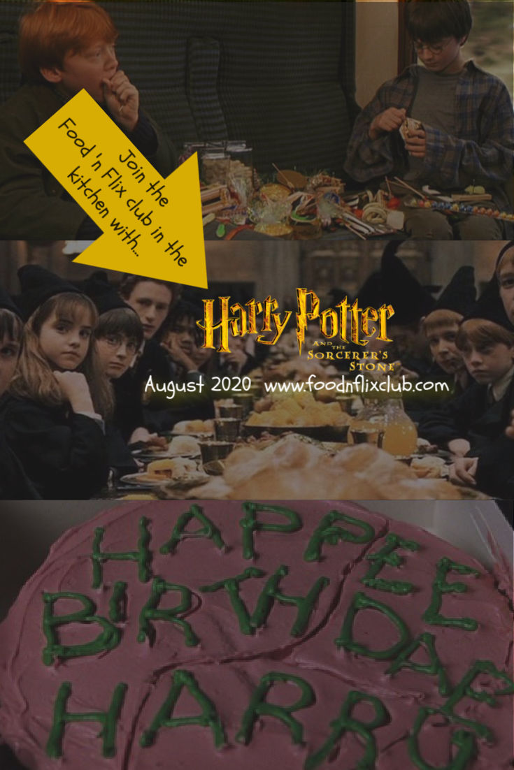 Recipes inspired by Harry Potter and the Sorcerer's Stone for #FoodnFlix August 2020
