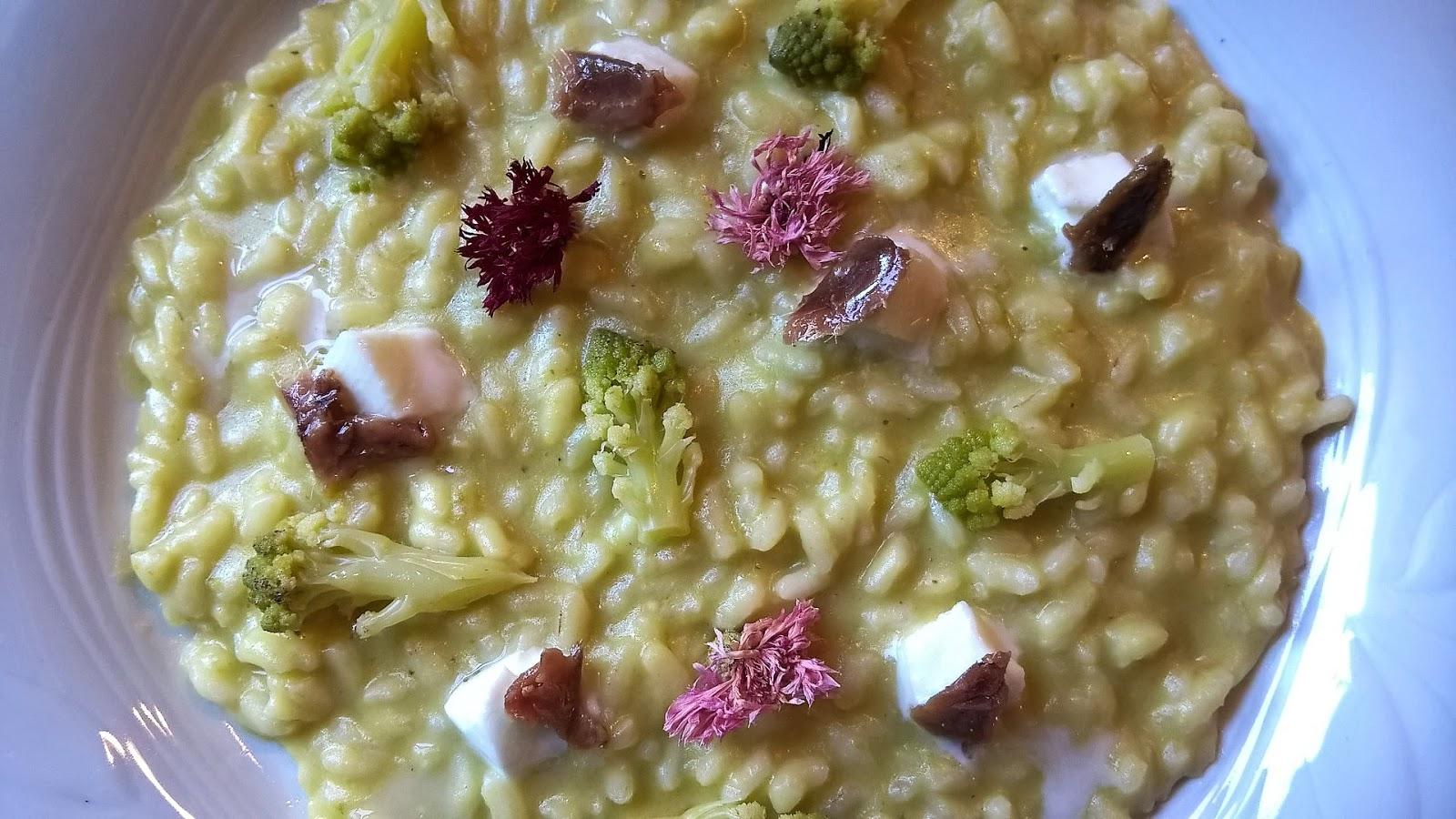 Fatemi cucinare risotto con broccoli romani fior di for Cucinare per 80 persone