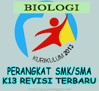 RPP Kurikulum 2013 Biologi kelas 10 SMA/SMK  Revisi 2018