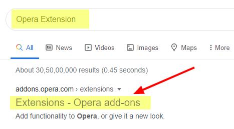 Opera-extension-addon