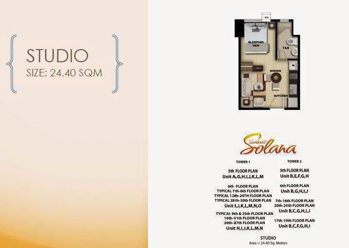 Solana Condominium Studio Unit