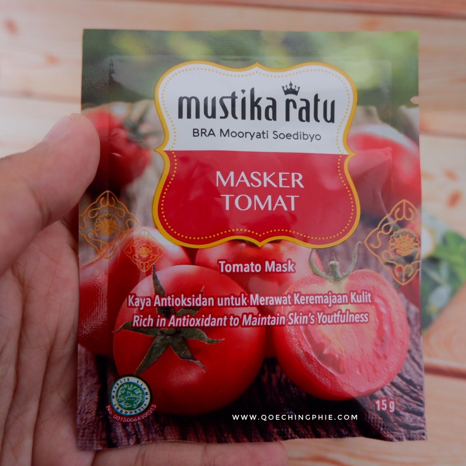 Review Produk Masker Bubuk Mustika Ratu Masker Murah Meriah