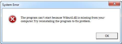 Télécharger Wdsutil.dll Fichier Gratuit Installer