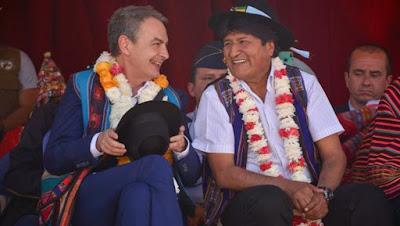 Zapatero, ZP, bolivia, empresas, españolas,