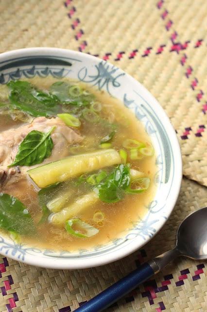 soupe de poulet des philippines