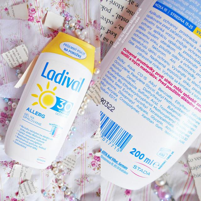 Benu Lekáreň Ladival ALLERG SPF 30 recenzia Blog de la Licorne