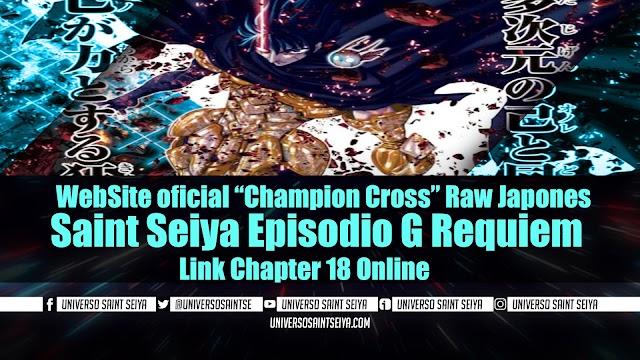 "Saint Seiya Episodio G Requiem – Capitulo 18 – WebSite oficial ""Champion Cross"" Raw Japones"