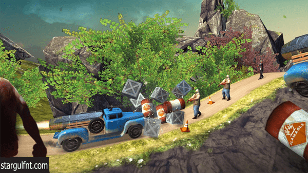 تحميل لعبة السابق والقتال Zombie Derby 2 للأيفون والأندرويد
