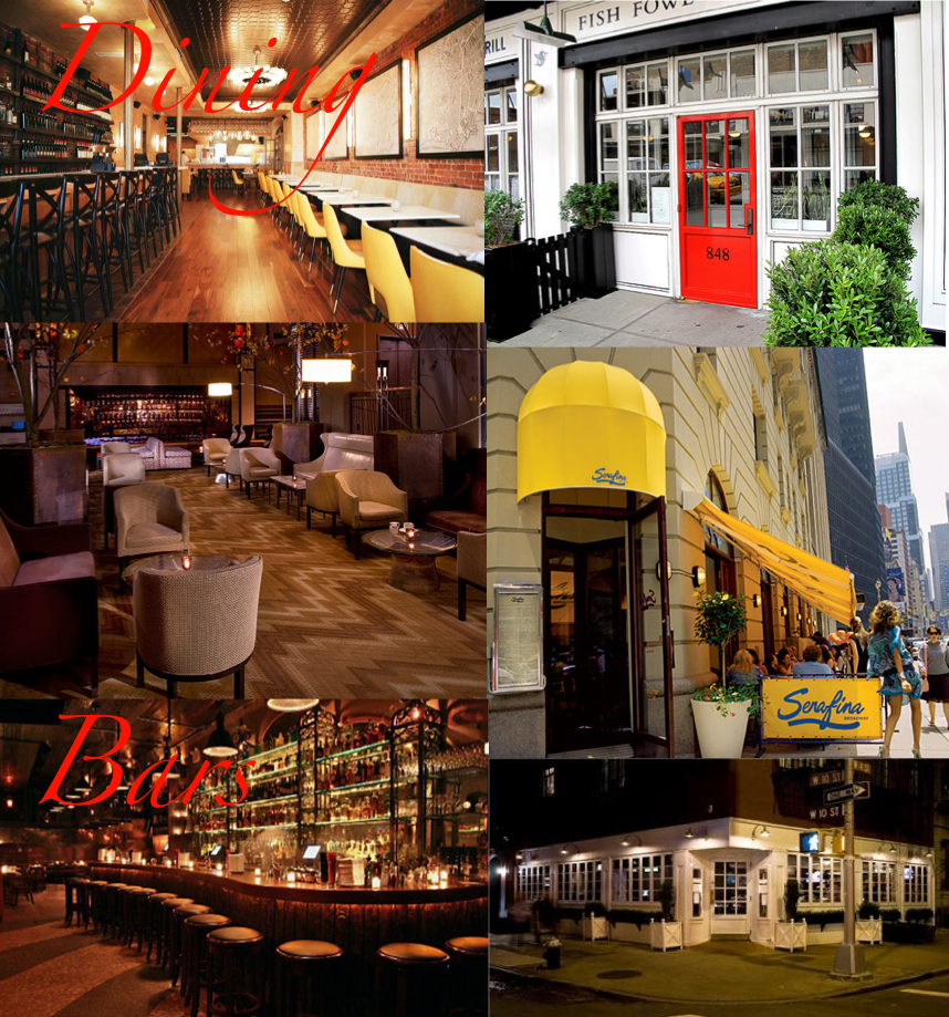 Where To Eat And Drink In New York City