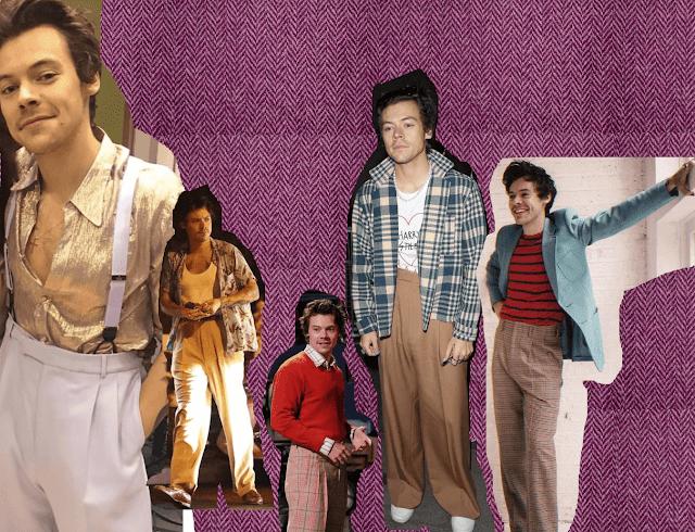 Harry Styles weite Hosen