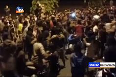 Balap Liar Diwarnai Tawuran, Seratusan Pemuda Diamankan Polres Tuban