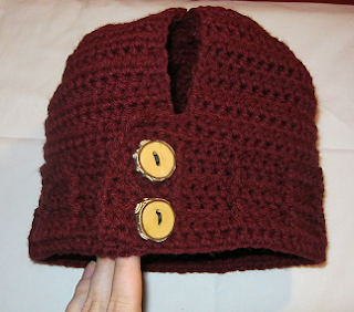LoopyKidz: Womens Ponytail Hat Crochet Pattern
