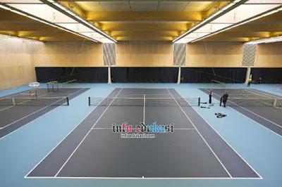 Gambar Lapangan Tenis Lapangan Indoor