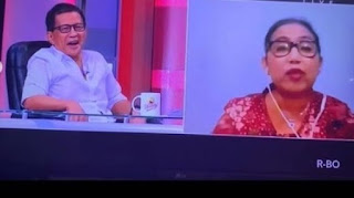 Geregetan Tonton Irma Nasdem - Rocky Gerung Debat: Otaknya Ada di Dengkul !!