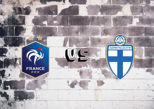 Francia vs Finlandia  Resumen y Partido Completo