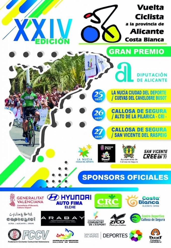 El equipo élite / Sub23 masculino correrá la Vuelta a Alicante desde el viernes al domingo