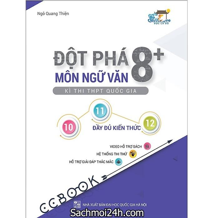 Đột Phá 8+: Kì Thi THPT Quốc Gia Môn Ngữ Văn (PDF bản đẹp)