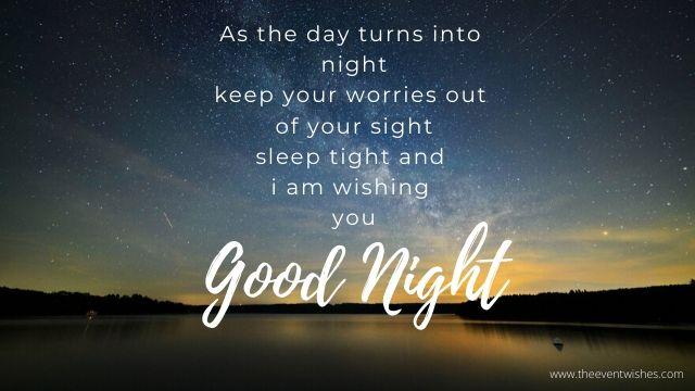 good night image photo wish