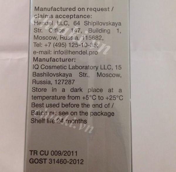 Kem nở ngực Upsize sản phẩm nổi tiếng của Nga