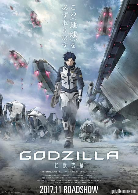 Película animada de Godzilla: Kaijū Wakusei se estrenará en noviembre