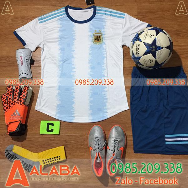 Áo Argentina 2019 2020 sân nhà