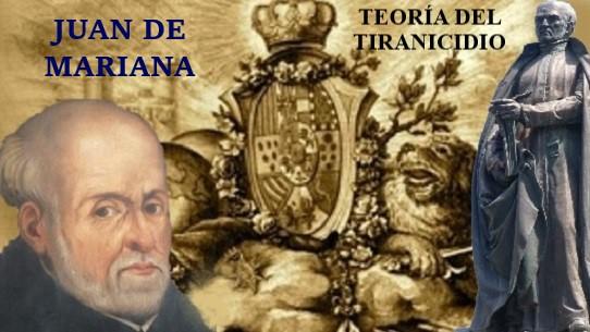 juan mariana teoría tiranicidio jesuita