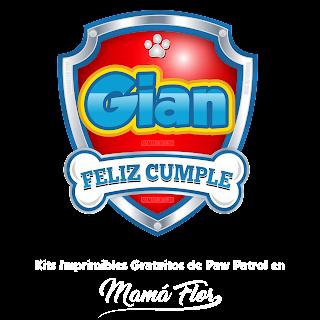 Logo de Paw Patrol: Gian