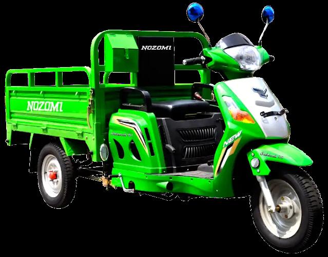 Nozomi Srikandi Motor Roda 3 yang Paling Bagus Untuk Aktivitas Anda