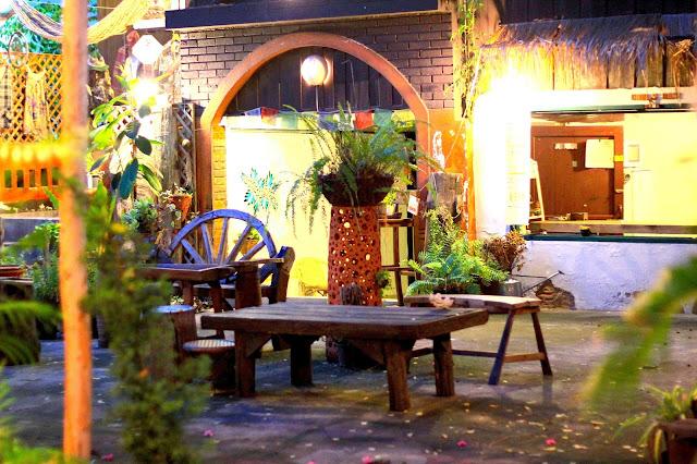 Outdoor Patio Travel Blogger Photography Chiang Mai Thailand