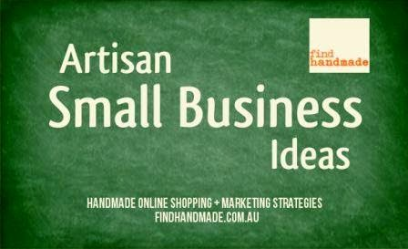 artisan small business ideas