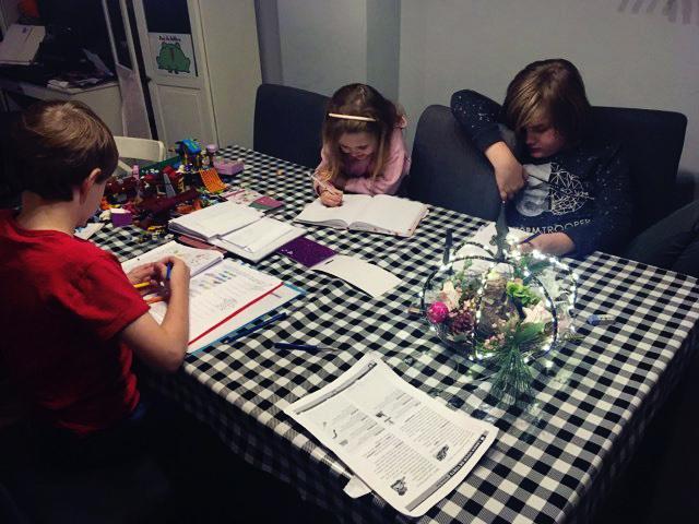 huiswerk kinderen