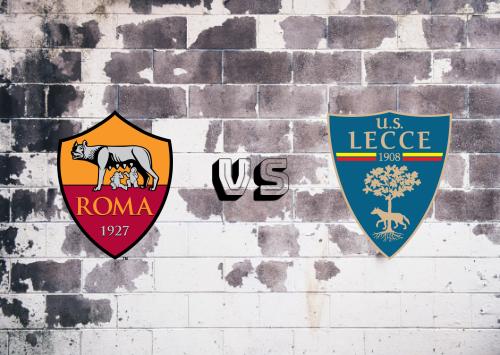 Roma vs Lecce  Resumen y Partido Completo