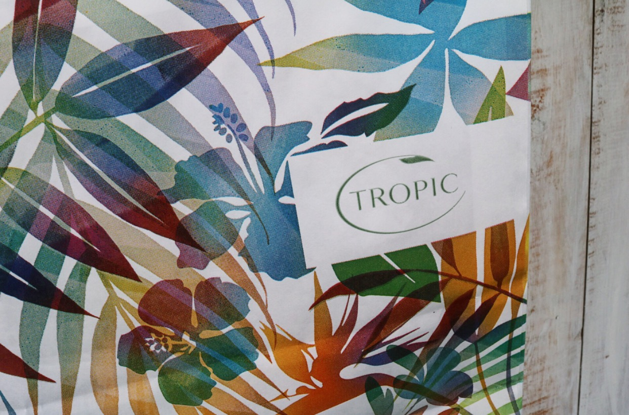 Tropic Brand Bag - (Colourful Tropic Leaves)