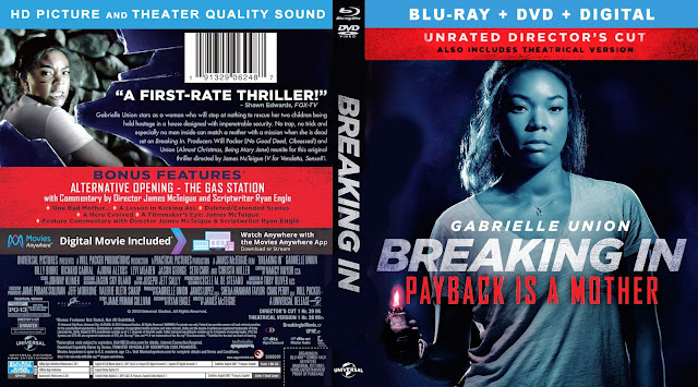 Breaking In (scan) Bluray Cover