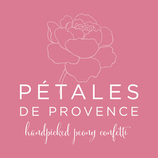 Logo for new company selling dried peony petals