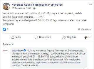 Cara Menggunakan Internet Malam Smartfren Mifi