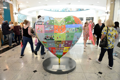 The Darnall Heart in Meadowhall