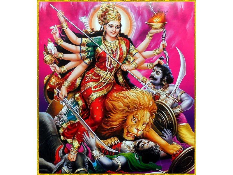 Maa Durga Images HD, Wallpaper And Sherawali Maa Durga Photos in HD