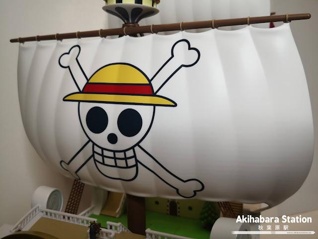 Review de Chogokin Thousand Sunny de One Piece - Tamashii Nations