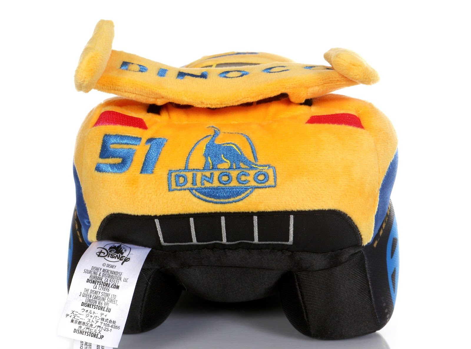 Cars 3 Disney Store Fabulous Lightning McQueen & Cruz Ramirez Plush