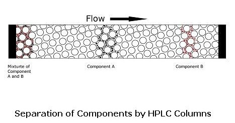 Mechanism of Separation of Components by HPLC
